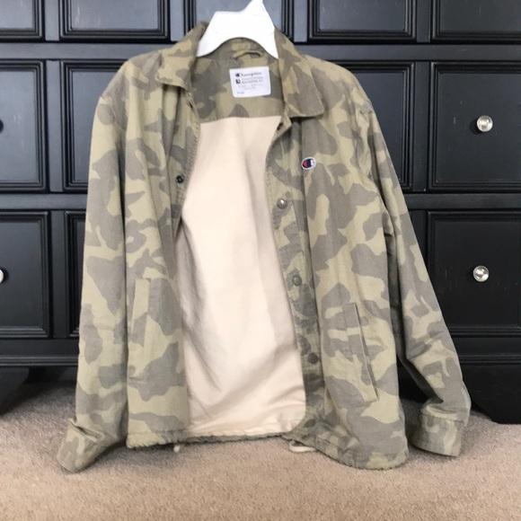 2baf582d48884 Champion Jackets & Coats   Camo Jacket   Poshmark
